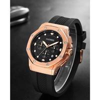 CADISEN メンズ腕時計 クォーツ クロノグラフ 自動日付 防水 スポーツ 海外ブランド