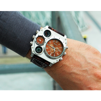Oulmメンズ腕時計  クォーツ スポーツ 海外輸入品 日本未発売