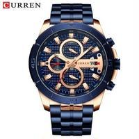 Curren メンズ腕時計 クォーツ 防水 高級腕時計