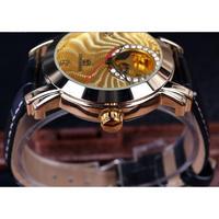 FORSINING メンズ腕時計 機械式 自動巻き スケルトン 海外限定 人気
