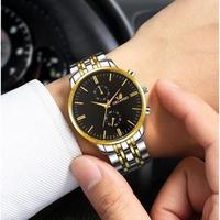 【5カラー】Yazole クォーツ腕時計 ビジネス腕時計 メンズ カジュアルファッション