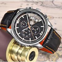 PAGANI DESIGN メンズ腕時計 クォーツ クロノグラフ 防水 自動日付 ダイビング 海外輸入品 日本未入荷