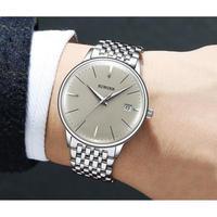 BINGER メンズ腕時計 機械式 自動巻き 防水 発光 日付機能 海外輸入品 人気