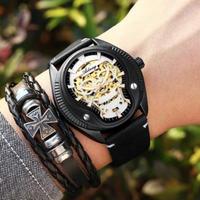 AILANG メンズ腕時計 機械式自動巻き  防水 スケルトン 日本未発売