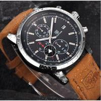 PAGANI DESIGN メンズ腕時計 クォーツ クロノグラフ 防水