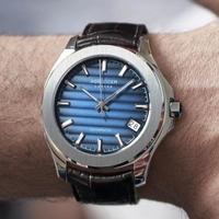 AGELOCER メンズ腕時計 機械式 自動巻き 防水 発光 日付機能 海外限定品
