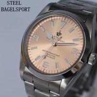 STEELBAGELSPORT メンズ腕時計 機械式 海外ブランド 海外限定品 日本未発売 人気