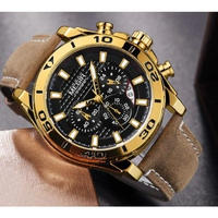 MEGIR メンズ腕時計 高級 海外ブランド 海外規定品 スポーツ 耐水 クォーツ