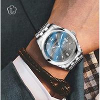 LOBINNI メンズ腕時計 機械式 自動巻き 自動日付 防水 高級腕時計