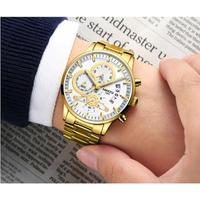 NIBOSI メンズ腕時計 クォーツ式 カレンダー 防水 日本未発売 人気 海外限定品