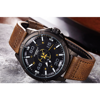 EYKI メンズ腕時計 クォーツ 防水 発光針 スポーツ 海外輸入品