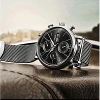LOBINNI メンズ腕時計 機械式 自動巻き 自動日付 防水 海外限定品