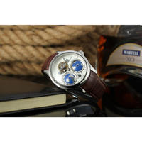 FORSINING メンズ腕時計 機械式 自動巻き トゥールビヨン  高級腕時計