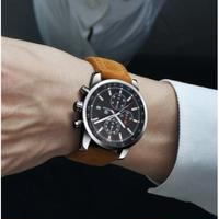 BENYAR メンズ腕時計 クォーツ クロノグラフ 防水 レザー 海外ブランド 日本未入荷