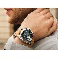 HAIQIN メンズ腕時計 機械式 自動巻き トゥールビヨン クロノグラフ 海外ブランド 海外限定