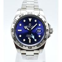 PETERLEE メンズ腕時計 機械式 自動日付 発光針 高級腕時計