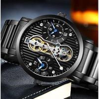 GUANQIN メンズ腕時計 機械式 自動巻き 防水 トゥールビヨン 海外限定品 海外ブランド 人気