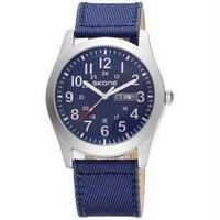 SKONE メンズ腕時計 クオーツ 自動日付 海外ブランド 海外限定 日本未発売
