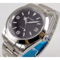 BLIGER メンズ腕時計 機械式 自動巻き 発光針 高級腕時計 人気