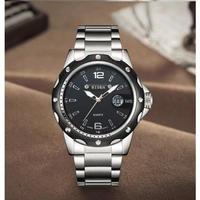 BIDEN メンズ腕時計 クォーツ 自動日付 防水 シンプル 海外限定品