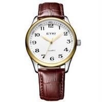 EYKI メンズ腕時計 クォーツ 防水 レザー クラシック 海外ブランド 人気