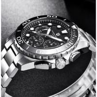 PAGANI DESIGN メンズ腕時計 クォーツ クロノグラフ 防水 ミリタリー 海外限定品 人気