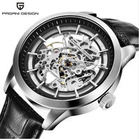 PAGANI DESIGN メンズ腕時計 機械式 自動巻き スケルトン 防水 高級腕時計