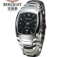 BERLIGET メンズ腕時計 クォーツ 自動日付 防水 海外ブランド