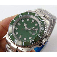 BLIGER メンズ腕時計 機械式 自動巻き 自動日付 発光針 高級腕時計