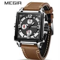 MEGIR メンズ腕時計 クォーツ クロノグラフ 海外限定品
