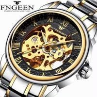 FNGEEN メンズ腕時計 海外ブランド 海外限定品 自動機械式 トゥールビヨン