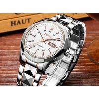 JIN SHI DUN メンズ腕時計 機械式 自動巻き  防水 高級腕時計