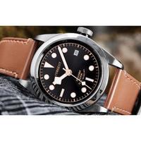 Corgeut メンズ腕時計 機械式 自動巻き 自動日付 メンズファッション