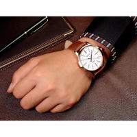 【4カラー】Yazole クォーツ腕時計 ビジネス腕時計 メンズ ファッションクォーツ