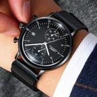 LOREO メンズ腕時計 クォーツ 防水  日付機能 海外輸入品