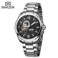 NAKZEN メンズ腕時計 機械式 自動巻き 海外輸入品