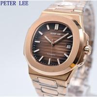 PETERLEE メンズ腕時計 機械式 自動巻き 自動日付 防水トップブランド