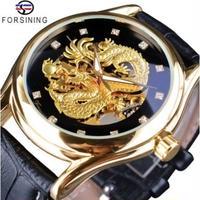 FORSINING メンズ腕時計 機械式自動巻き 防水 発光 海外輸入品