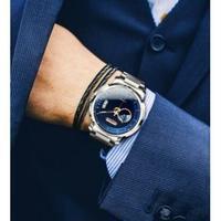LOBINNI メンズ腕時計 機械式 自動巻き 自動日付 防水 発光 高級腕時計