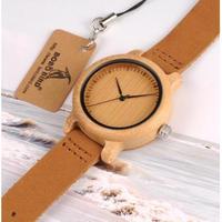 BOBO BIRD メンズ腕時計 クォーツ 海外限定品 カジュアル レザー