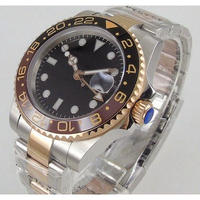 BLIGER メンズ腕時計 機械式 自動巻き 自動日付 発光針 人気