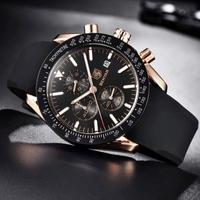 BENYAR メンズ腕時計 クオーツ 防水 クロノグラフ 海外輸入品