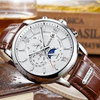 Nesun メンズ腕時計 機械式 自動巻き ムーンフェイズ 海外限定 人気