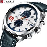 Curren メンズ腕時計 クオーツ式 クロノグラフ 防水 高級ブランド 海外限定品 海外ブランド 人気