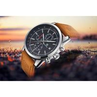 BENYAR メンズ腕時計 クォーツ クロノグラフ 防水 自動日付 ストップウォッチ 海外限定品