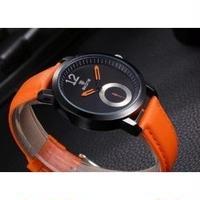 SKONE メンズ腕時計 クォーツ 防水 海外輸入品 レザー 日本未入荷