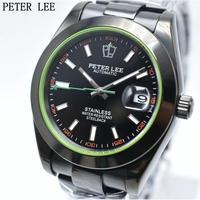 PETERLEE メンズ腕時計 機械式 自動巻き 防水 日付表示 高級腕時計 海外ブランド