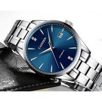 CADISEN メンズ腕時計 機械式 自動巻き 自動日付 高級腕時計 防水
