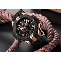 MEGIR メンズ腕時計 クォーツ クロノグラフ  高級腕時計