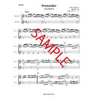 Pretender/Official髭男ism  2Saxophonesアンサンブル譜